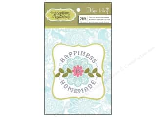 Anna Griffin Stickers: Blend Sticker Hope Chest Vellum Quotes