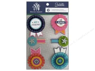 Anna Griffin 6 x 6: Blend Sticker Gabbie 3D Rosette
