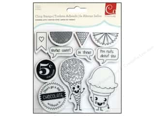Everything You Love Sale Scrapbooking: Cosmo Cricket Stamps Cling Summer Love