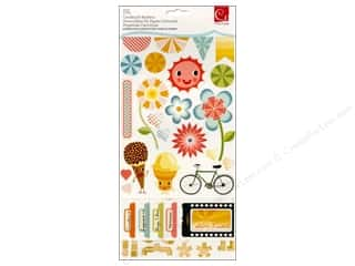 Everything You Love Sale Scrapbooking: Cosmo Cricket Sticker Cardstock Summer Love
