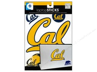 Staples $4 - $6: Me&My Big Ideas Sticker Laptop STICKS NCAA California Bears