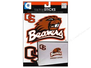 Decals Black: Me&My Big Ideas Sticker Laptop STICKS NCAA Oregon State Beavers
