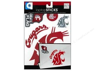 MAMBI Sticker LaptopSTICKS NCAA Wash St Cougars