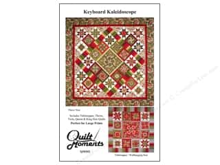 Patterns $9 - $105: Quilt Moments Keyboard Kaleidoscope Pattern