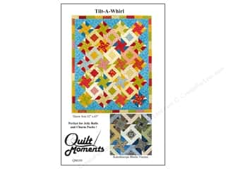 Quilt Moments Jelly Roll Patterns: Quilt Moments Tilt-A-Whirl Pattern