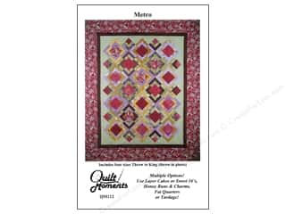 Quilting Made Easy $12 - $15: Quilt Moments Metro Pattern