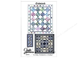 Quilt Woman.com Fat Quarter / Jelly Roll / Charm / Cake Patterns: Quilt Moments Entwined Pattern