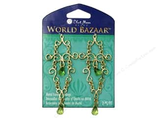 Blue Moon Beads Findings: Blue Moon Earring Findings World Bazaar Metal Dangle 2 pc. Gold