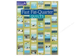 Annies Attic Fat Quarter / Jelly Roll / Charm / Cake Books: That Patchwork Place Make It Martingale Series Fast Fat-Quarter Quilts Book