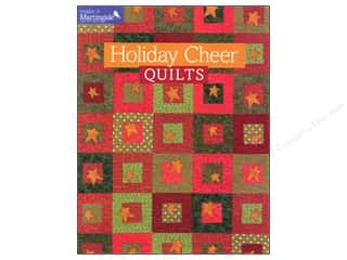 Wreaths Quilting: That Patchwork Place Make It Martingale Series Holiday Cheer Quilts Book