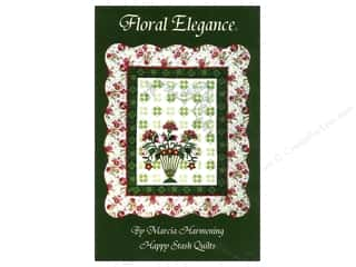 Patches Borders: Happy Stash Quilts Floral Elegance Pattern by Marcia Harmening