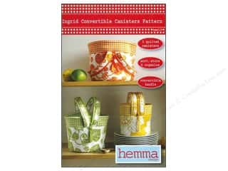 Yesterday's Charm Home Decor Patterns: Hemma Design Ingrid Convertible Canisters Pattern