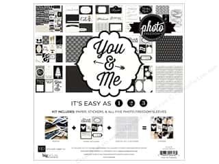 Clearance Echo Park Collection Kit: Echo Park Collection Kit 12x12 You & Me