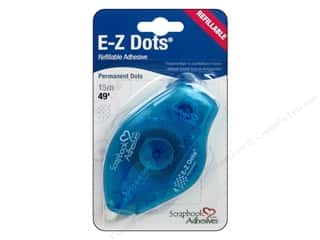 SCRAPBOOK ADHESIVES BY 3L E-Z Dots Perm Refillable 49&#39;