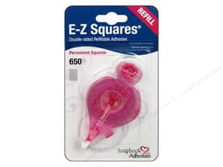 2013 Crafties - Best Adhesive: 3L Scrapbook Adhesives E-Z Squares 650 pc. Refillable