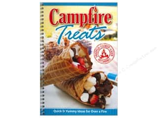 Cooking/Kitchen Books & Patterns: CQ Products Campfire Treats Book