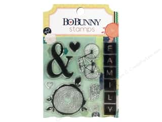 Bo Bunny Clear Stamps Family Is