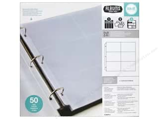 "Page Protectors 6 x 6: We R Memory Photo Sleeve Ring 12""x 12"" Albums Made Easy 6""x 4"" 50pc"