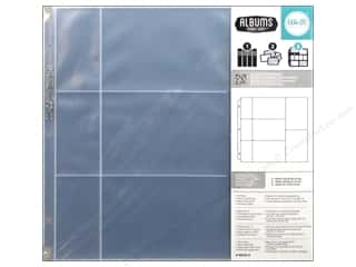 "Page Protectors 6 x 6: We R Memory Photo Sleeve Ring 12""x 12"" Albums Made Easy 6""x 4""/4""x 6""/2""x 4"" 10pc"
