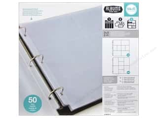 "Quilting Made Easy $12 - $15: We R Memory Photo Sleeve Ring 12""x 12"" Albums Made Easy Assorted 50pc"
