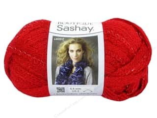 Clearance Red Heart Designer Sport Yarn: Red Heart Boutique Sashay Yarn #1904 Red 30 yd.