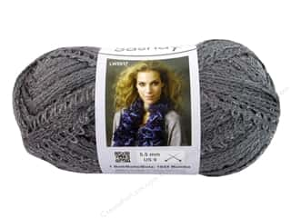 Clearance C&C TLC Essentials Yarn: Red Heart Boutique Sashay Yarn 3.5 oz. Grey
