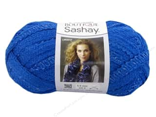 Clearance Red Heart Designer Sport Yarn: Red Heart Boutique Sashay Yarn 3.5 oz. Blue