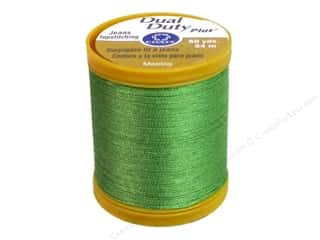 Hemming New: Coats Dual Duty Plus Jeans Topstitching Polyester Thread 60 yd. Bright Green