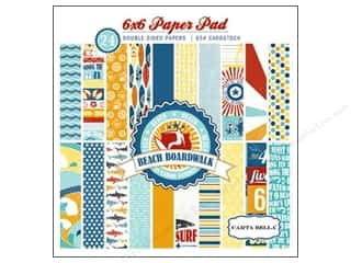 Carta Bella Paper Pad 6x6 Beach Boardwalk