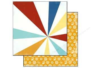 Beach & Nautical paper dimensions: Carta Bella 12 x 12 in. Paper Beach Boardwalk Beach Ball (25 pieces)