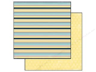 Carta Bella Paper 12x12 Beach Boardwalk Beachy Stripe (25 piece)