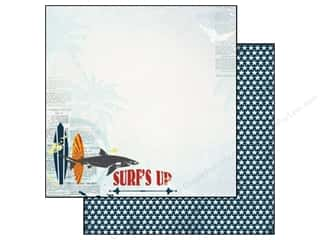 Carta Bella Paper 12x12 Beach Boardwalk Surf's Up (25 piece)