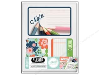 Cards: We R Memory Cards Albums Made Easy Journal Memo