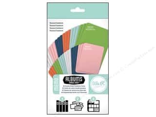 card sleeve: We R Memory Cards Albums Made Easy Cardstock Memo