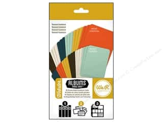 card sleeve: We R Memory Cards Albums Made Easy Cardstock Webster
