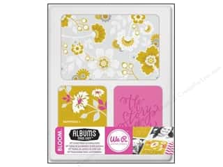 card sleeve: We R Memory Cards Albums Made Easy Journal Bloom
