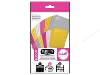 card sleeve: We R Memory Cards Albums Made Easy Cardstock Bloom