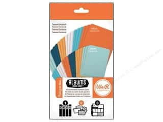 card sleeve: We R Memory Cards Albums Made Easy Cardstock Tangerine