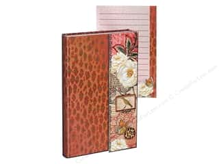 Magnets Flowers: Punch Studio Journal Mini Metallic Magnet Flap Cheetah