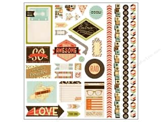 Sizzling Summer Sale BasicGrey: BasicGrey Element Stickers Hipster