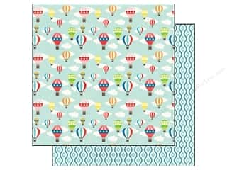 Clearance Blumenthal Favorite Findings: Echo Park 12 x 12 in. Paper Hot Air Ballon (25 piece)