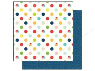 Echo Park 12 x 12 in. Paper Perfect Summer Big Dots (25 piece)
