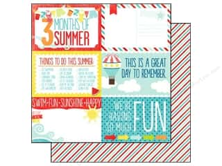 Echo Park 12 x 12 in. Paper Summer 4x6 Journaling Cards (25 piece)