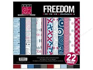 Bazzill 12 x 12 in. Multi Pack Freedom 22 pc.