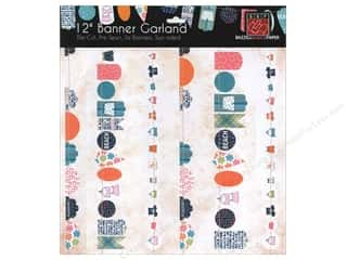 Scrapbooking: Bazzill Die-Cut Garland Banners 6 pc. Summer