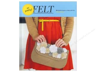 Crafting Kits Chronicle Books: Chronicle So Pretty Felt Book by Amy Palanjian