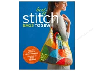 Sewing & Quilting 2013 Crafties - Best Organizer: Interweave Press The Best of Stitch: Bags to Sew Book