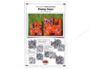 La Todera Quilt Patterns: La Todera Mama & Baby Flatty Cats Pattern