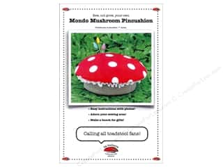 Yesterday's Charm Home Decor Patterns: La Todera Mondo Mushroom Pincushion Pattern