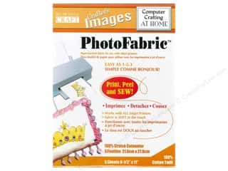 Blumenthal Crafter's Images PhotoFabric 8 1/2 x 11 in. Cotton Twill 5 pc.